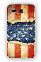 Чехол для Huawei Ascend Y511-U30 (Американский флаг)