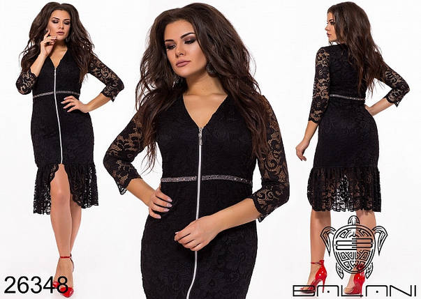 Гипюр платье большого размера, фото 2