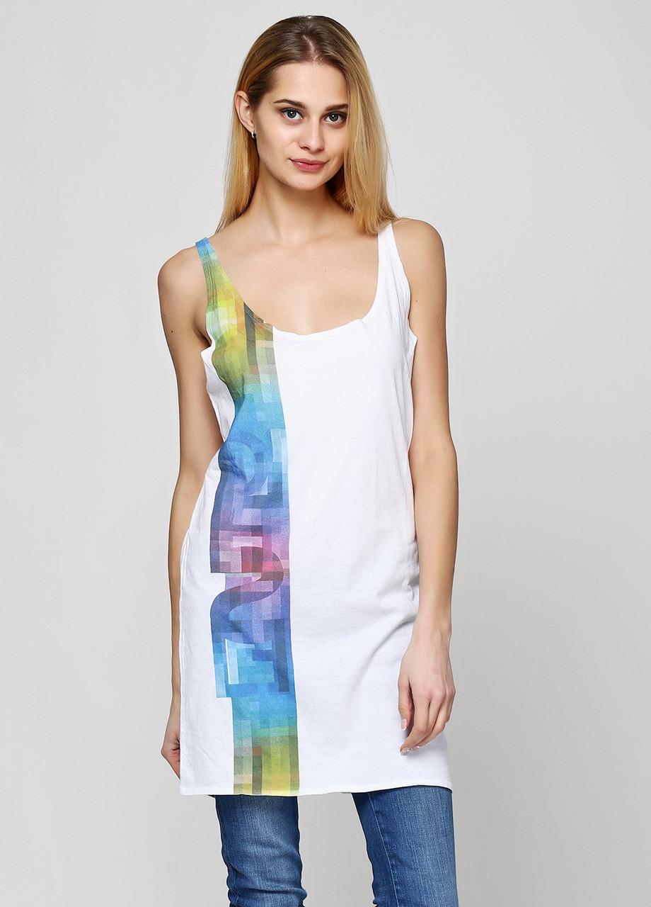 ba95139c01b9 (Уценка) Майка женская DIESEL цвет белый размер XS арт (УЦ)00CKBW цена 540  грн.