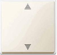 Кнопка выключения для жалюзи с паматью и подключением датчика бежевый Schneider Electric Merten (MTN587944)