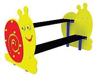 """Детская скамейка со столом """"Улитка"""" S744"""