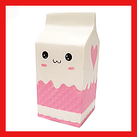 Игрушка антистресс сквиш молоко