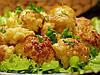 Жареная цветная капуста с кунжутным маслом