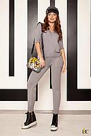 Donna-M Вязаный костюм из хлопка и люрекса V 127, фото 1