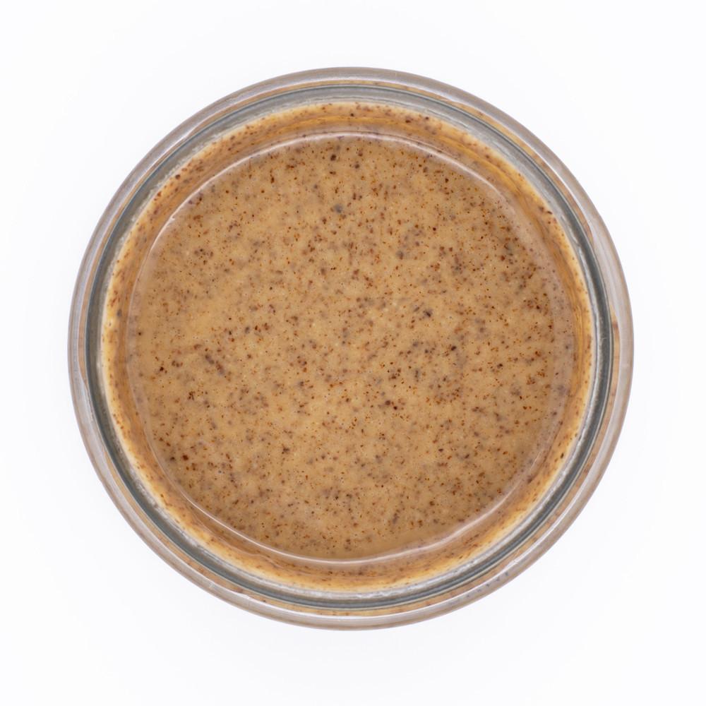 Классическая миндальная паста, 700г СТЕКЛО, натуральная без добавок, сладкий украинский живой миндаль