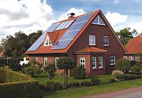 Сетевая автономная система на солнечных батареях 5кВт 220Вольт