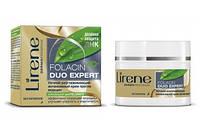 Крем для лица против морщин ночной интенсивный «Lirene Folacyna Intense» 50 мл