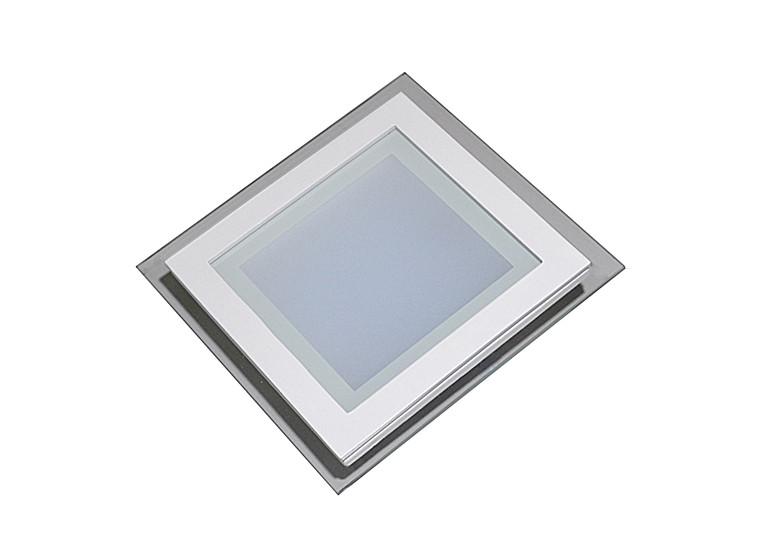 Светодиодный светильник LED Downlight Glass 12W (квадратный)