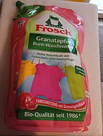 Жидкий порошок Фрош для стирки цветных тканей Frosch Granatapfel 1800 мл
