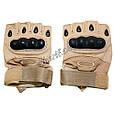 Перчатки беспалые Oakley TAN, фото 3