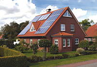 Солнечная электростанция для дома 2,4кВт 220Вольт