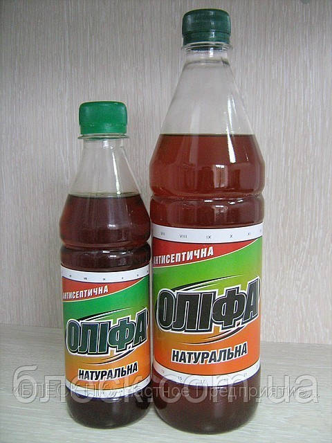 """Оліфа """"Натуральна"""" """"БЛИСК"""" 0,36 кг (пляшка ПЕТ 0,5 л)"""
