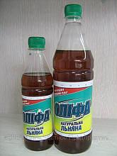 """Оліфа """"Натуральна лляна"""" """"БЛИСК"""" 0,36 кг (пляшка ПЕТ 0,5 л)"""