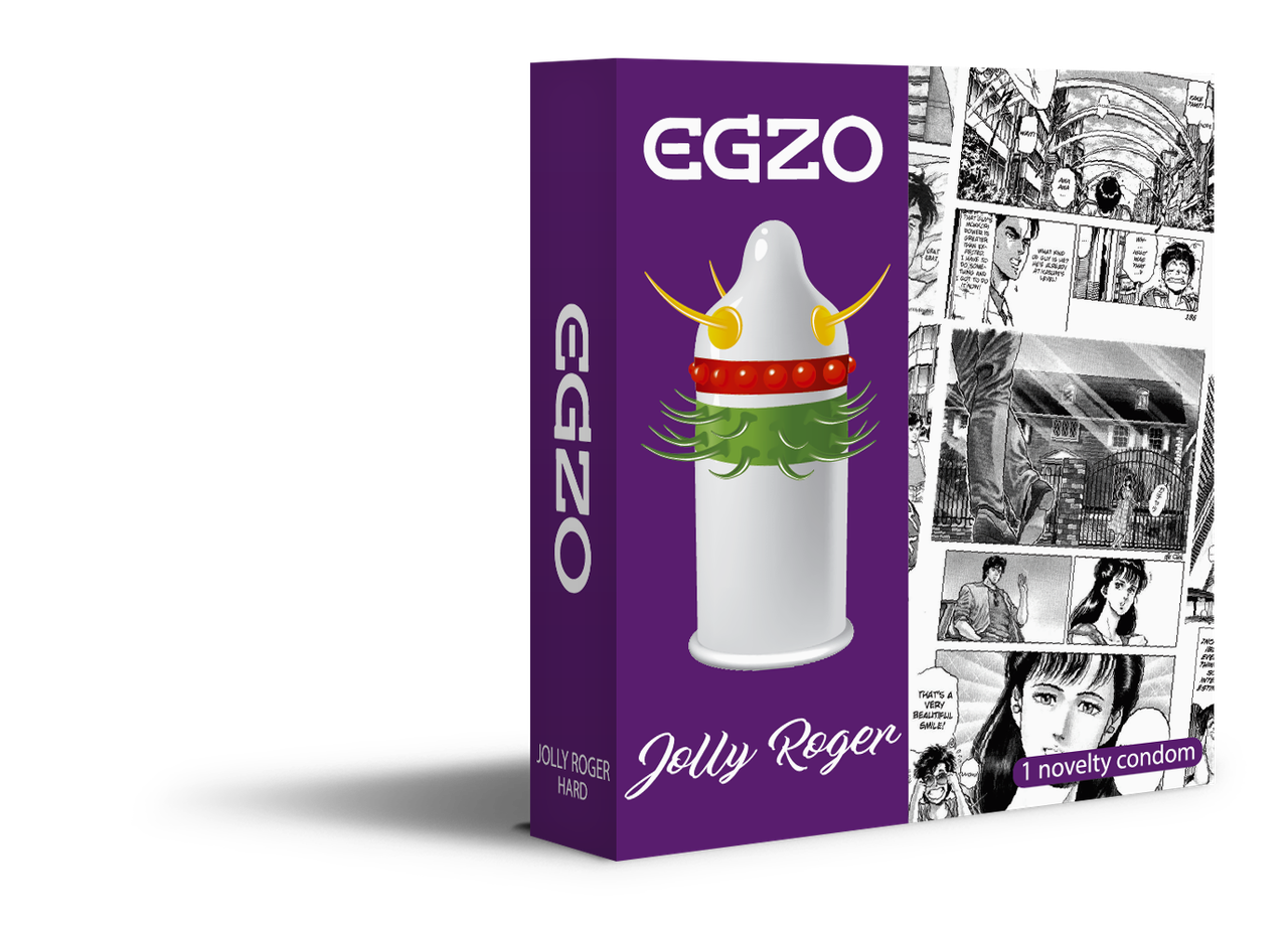 "Презервативы EGZO ""Jolly Roger""- ""Веселый Роджер"""