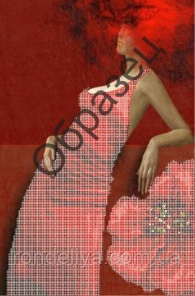Схема для вишивки бісером « Червона»