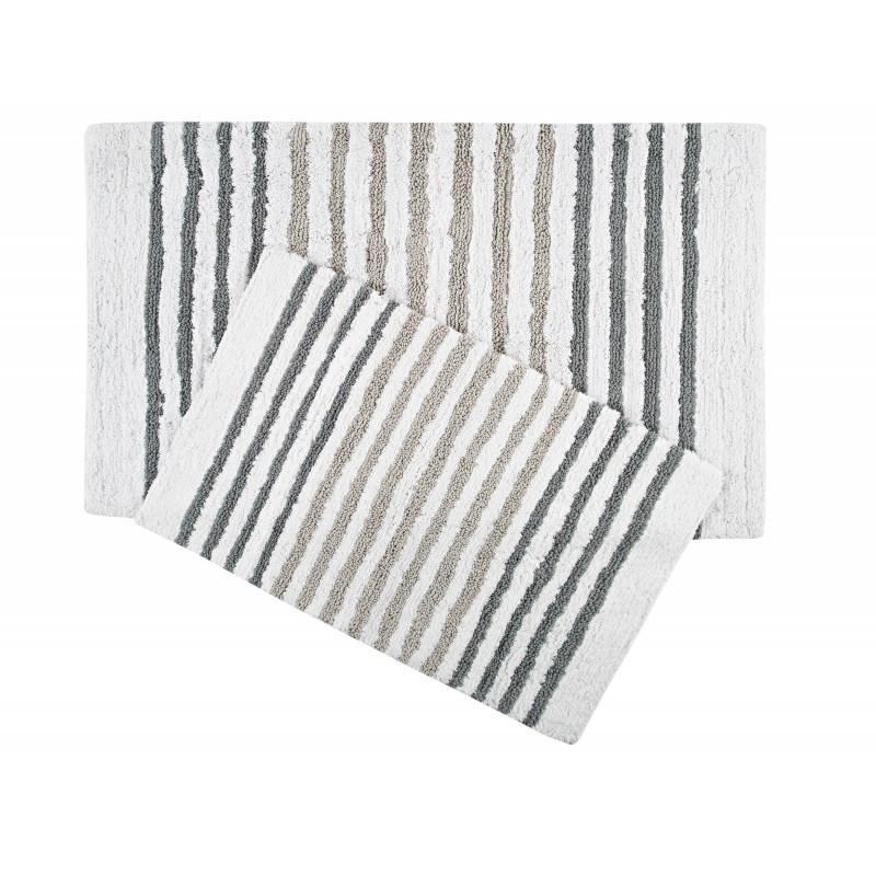 Набор ковриков Irya - Grenada серый 70*115+55*80
