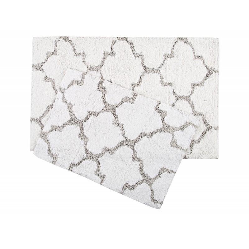 Набор ковриков Irya - Bali белый 50*80+45*60