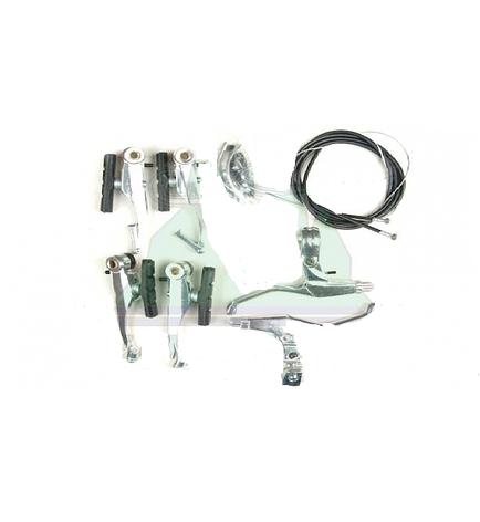V-brake MTB алюминиевый (с ручками), фото 2