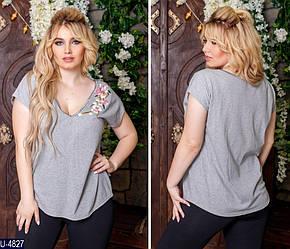 Женская футболка (батал)