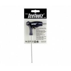 Ключ ICE TOOLZ 7M25 двухсторонний 2.5mm