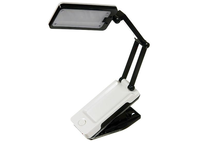 Настольная светодиодная лампа LED Lamp 22LED с прищепкой