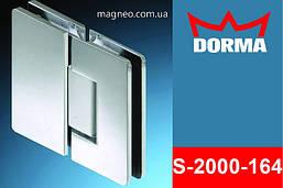 Петля для душевой маятниковая стекло стекло самодоводящаяся для кабины из стекла, хром Dorma S2000