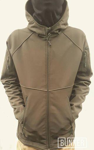 Тактическая куртка софтшел Softshell Sport olive олива