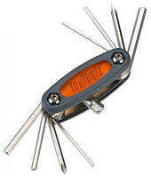 Ключ ICE TOOLZ 97B3 складной 9 инструментов Mighty 9