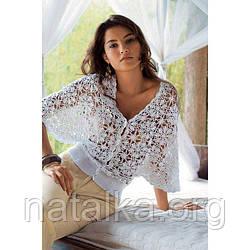 Ажурная блузка из хлопка — незаменимая вещь летом
