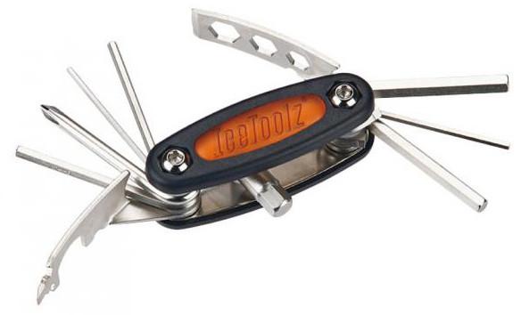 Ключ ICE TOOLZ 97C3 складной 16 инструментов Mighty 16