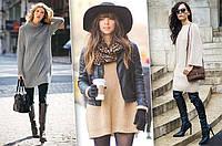 Женские вязаные платья из хлопка: комфортно и стильно