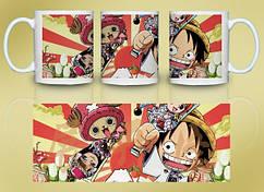 Кружка Geek Land Большой куш One Piece на фоне солнца OP.02.012