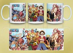 Кружка Geek Land Большой куш One Piece герои OP.02.011