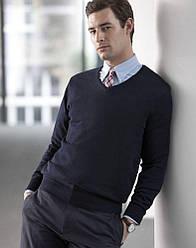 Как выбрать модный вязаный мужской свитер
