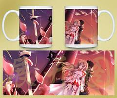 Кружка чашка Sword Art Online SAO Мастера меча онлайн
