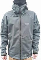 Тактическая куртка софтшел Softshell Stalker Commandor fullgreen олива грин, фото 1
