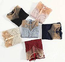 Женская блуза набивное кружево, размер 42-44, фото 3
