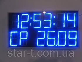 Часы термометр календарь день недели