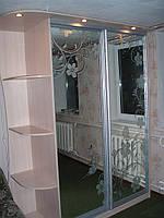 Шкафы купе с рисунком