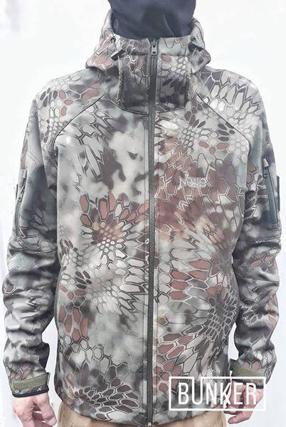 Тактическая куртка софтшел Softshell Stalker Commandor kryptec криптек