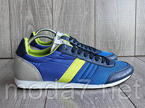 Кроссовки мужские синие сетка, фото 2