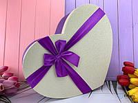 Подарочная упаковка белая с бантом SIMPLE 3 в 1 набор 3 шт для девушки на подарок органайзер