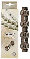 Вело цепь KMC Z33 на 6 скоростей,велоцепь Цепь KMC Z33 116 звеньев, 6 звёзд