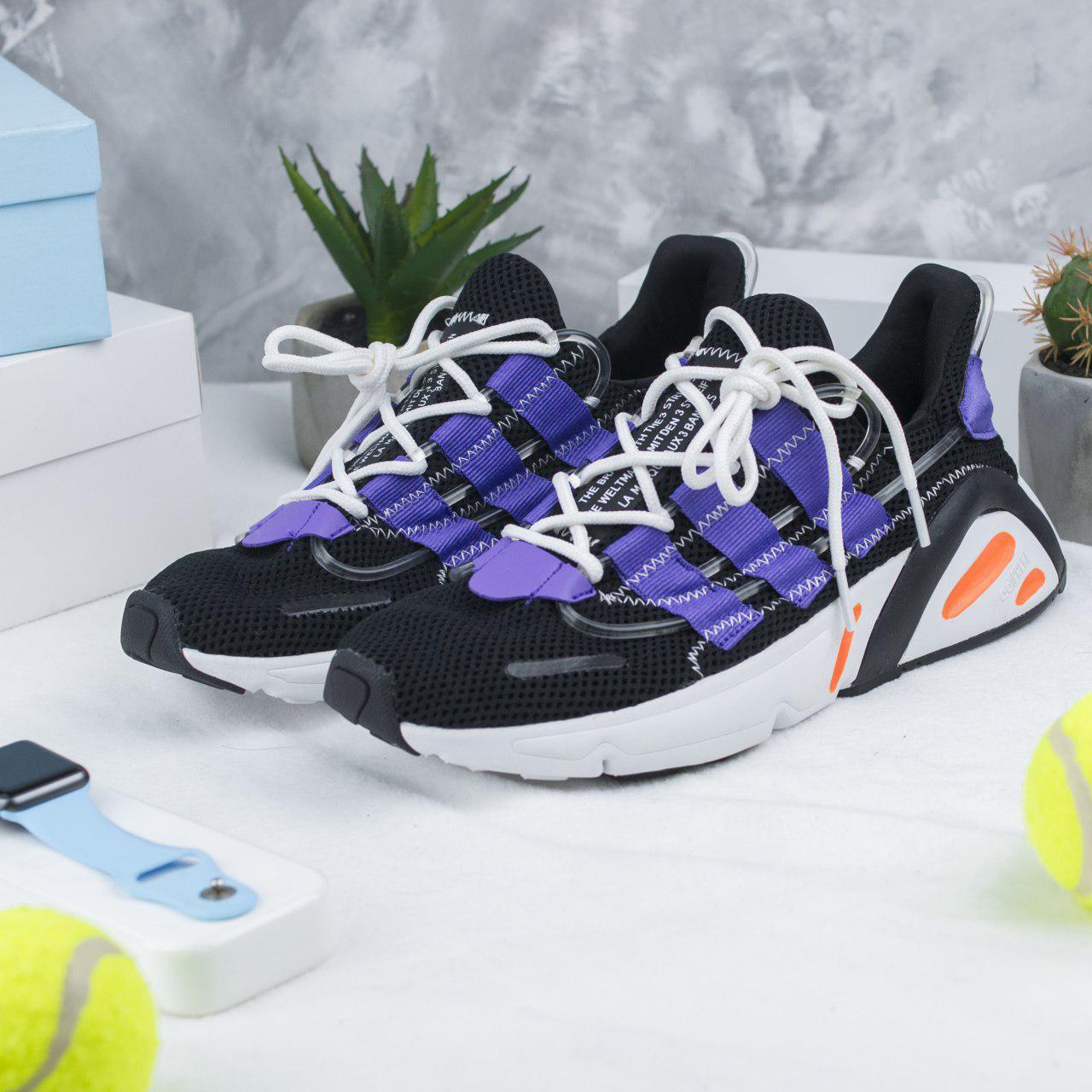 online store 5325b 5a21a Мужские кроссовки в стиле Adidas Yeezy Boost 600 Black/White/Blue