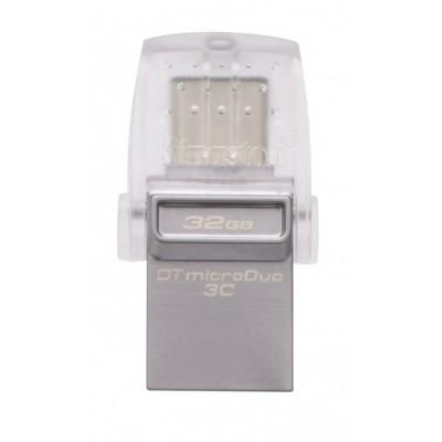 Флеш-накопитель USB3.1 32Gb Kingston DataTraveler microDuo 3C (DTDUO3C/32GB)