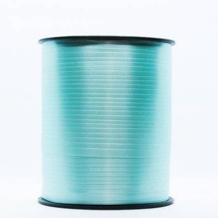 Лента для шаров 050 бирюзовая (мятная) 0,5/300, фото 2