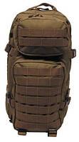 Рюкзак тактический, боевой Assault Pack I (MFH), coyote tan, система MOLLE, на 30 л
