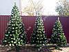 Искусственная елка 2.20м с белыми кончиками (ефект шишки)., фото 5