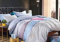 Двуспальное постельное белье сатин Вилюта