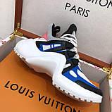 Кроссовки, кеды, сникерсы Луи Витон Archlight Sneaker, цвет синий, фото 6